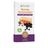 GreenBay Harvest Blackcurrant Manuka Honey Loz 8 lozenges