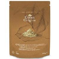 Green Origins Org Shelled Hemp Seeds (Raw) 100g
