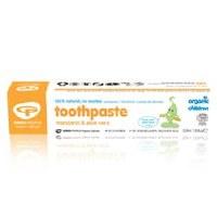 Green People Childrens Mandarin Toothpaste 50ml