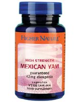 Higher Nature Mexican Yam High Strength 30 capsule