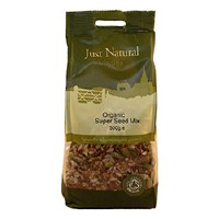 Just Natural Organic Org Omega 3 Seed Mix 500g