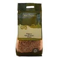 Just Natural Organic Org Kamut Khorasan Grain 500g