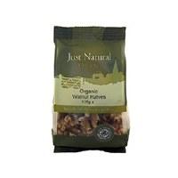 Just Natural Organic Org Walnut Halves 125g