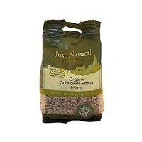Just Natural Organic Org Sunflower Seeds 250g