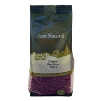 Just Natural Organic Org Red Rice 500g