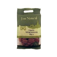Just Natural Organic Org Almonds Whole 80g