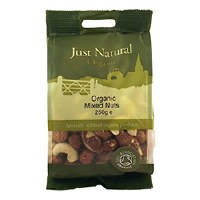 Just Natural Organic Org Mixed Nuts 250g
