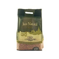Just Natural Organic Org Golden Linseed 250g
