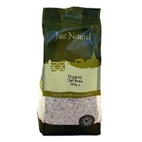 Just Natural Organic Org Oat Bran 350g