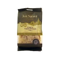 Just Natural Organic Org Almonds Flaked 125g