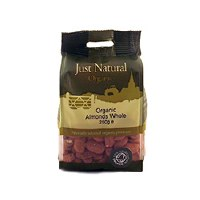 Just Natural Organic Org Almonds Whole 250g