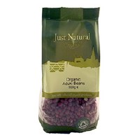 Just Natural Organic Org Aduki Beans 500g