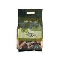 Just Natural Organic Org Brazils Whole 250g