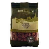 Just Natural Organic Org Hazelnuts 250g