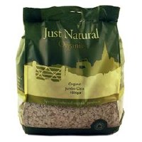 Just Natural Organic Org Jumbo Oats 1000g
