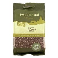 Just Natural Organic Org Chia Seeds 250g