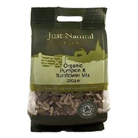 Just Natural Organic Org Pumpkin & Sunflower Mix 250g