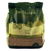 Just Natural Organic Org Quinoa Grain 1000g