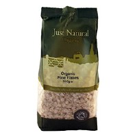 Just Natural Organic Org Rice Flakes 350g