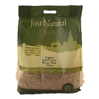 Just Natural Organic Org Short Grain Brown Rice 1000g