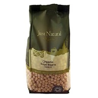 Just Natural Organic Org Soya Beans 500g