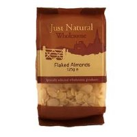 Just Natural Wholesome Flaked Almonds 125g