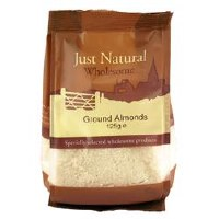 Just Natural Wholesome Ground Almonds 125g