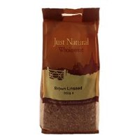 Just Natural Wholesome Brown Linseed 500g
