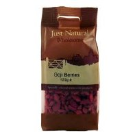 Just Natural Wholesome Goji Berries 125g