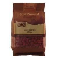 Just Natural Wholesome Goji Berries 250g