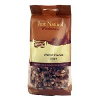 Just Natural Wholesome Walnut Pieces 250g