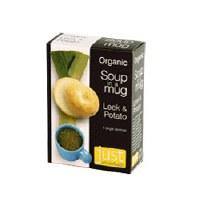 Just Wholefoods Org Vegan Leek & Potato Soup 4 x 17g
