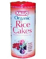 Kallo Rice Cakes No Added Salt 130g