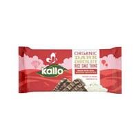 Kallo Rice Cakes Dark Chocolate 90g