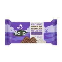 Kallo Rice Cakes Milk Chocolate 90g