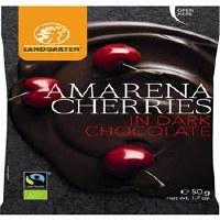 Landgarten Cherries Dark Choco 50g
