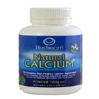 Lifestream Natural Calcium 100g