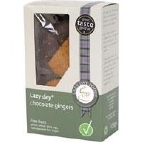 Lazy Days Dark Belgian Choc Gingers 125g