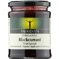 Meridian Org Blackcurrant Fruit Spread 284g