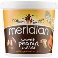 Meridian Smooth Peanut Butter +salt 1000g