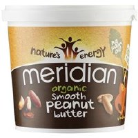 Meridian Org Smooth Peanut Butter 100% 1000g