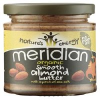 Meridian Org Almond Butter With Salt 170g