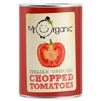 Mr Organic Chopped Tomatoes (BPA-free) 400g