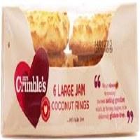 Mrs Crimbles Jam Rings G/F 240g