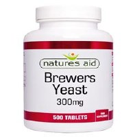 Natures Aid Brewers Yeast 300mg 500 tablet