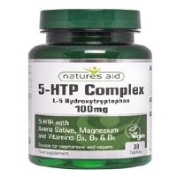 Natures Aid 5-HTP Complex 100mg 30 Tablets