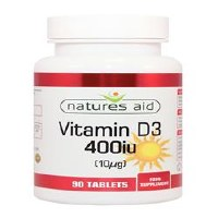 Natures Aid  Vitamin D3 1000iu 90 tablet