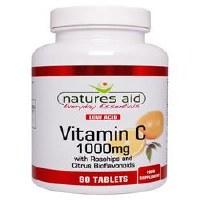Natures Aid Promotional Packs Vit C 1000mg Low Acid + 33% 90 + 30 tablet