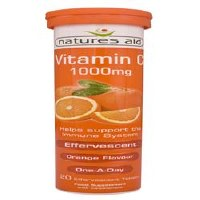 Natures Aid Vitamin C 1000MG Effervescent 20 tablet