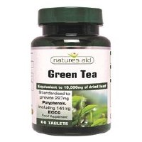 Natures Aid Green Tea 10000mg 60 tablet